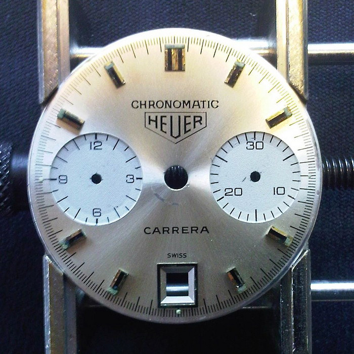 Chronomatic Carrera Dial -- Front