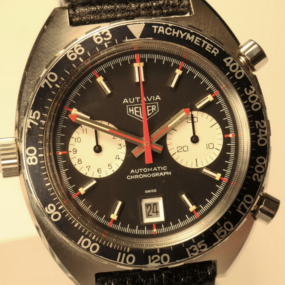 Use of Rotating Tachymeter Bezel - A