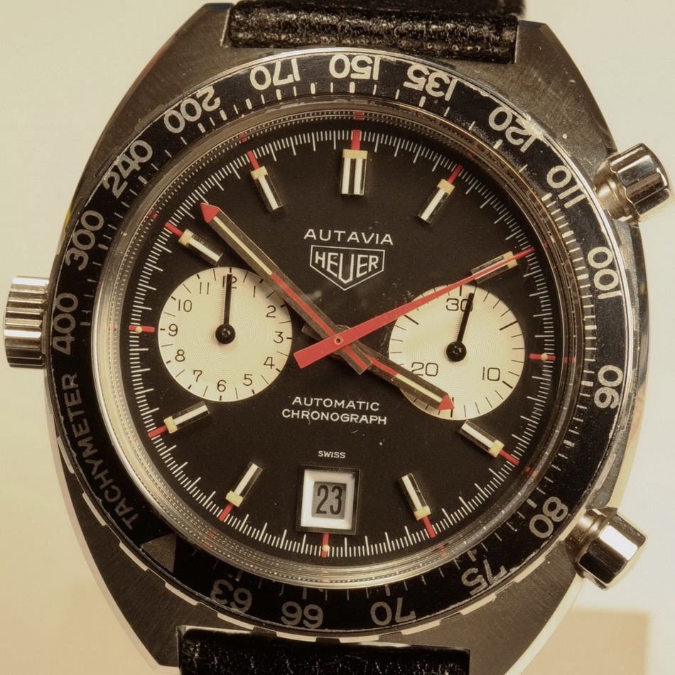 Use of Rotating Tachymeter Bezel - D