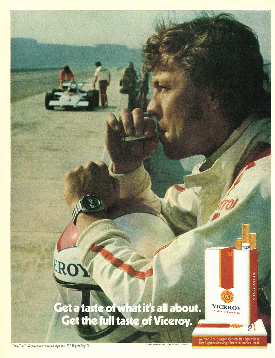 Viceroy Ad from June 1972