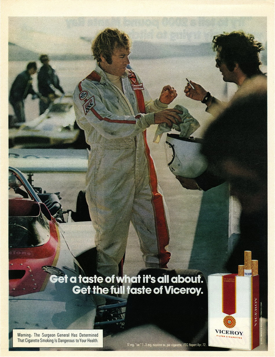 Viceroy Ad from October 1972