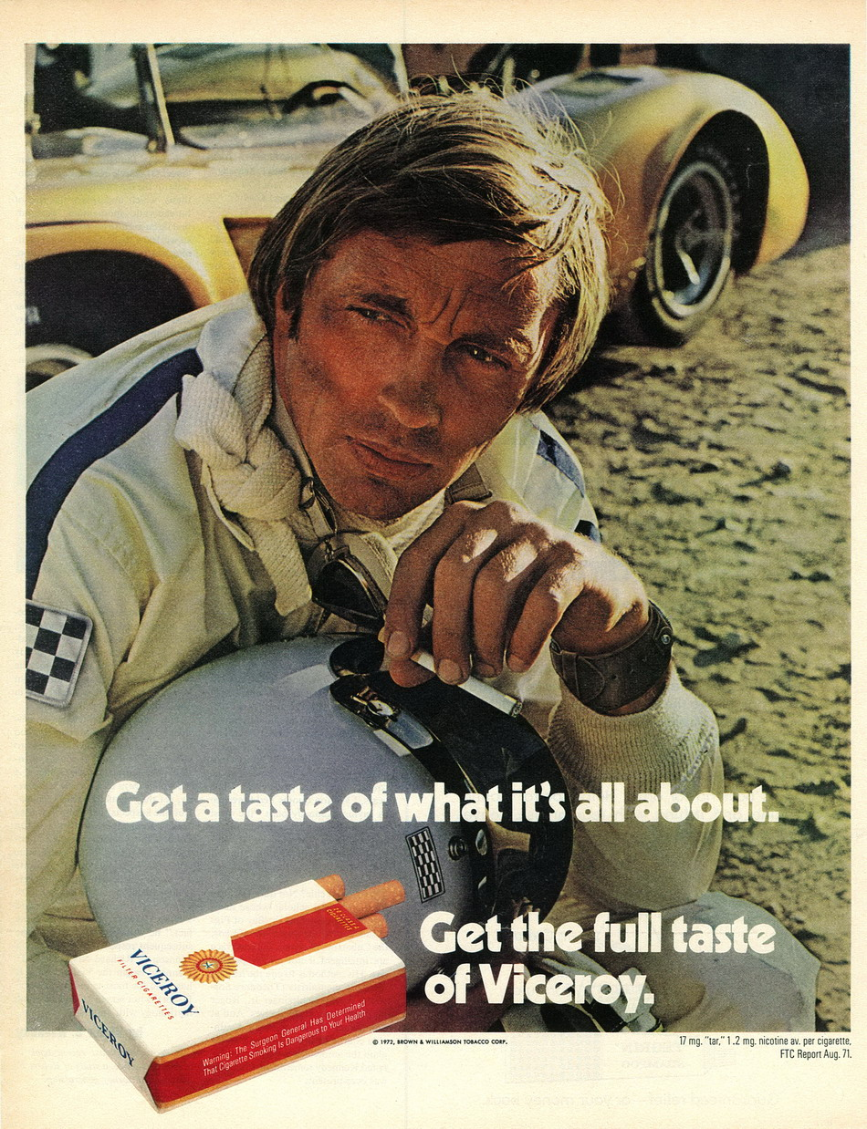 Viceroy Ad from Early 1972